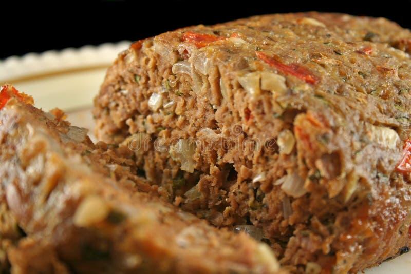 Pan con carne 2 del cordero foto de archivo