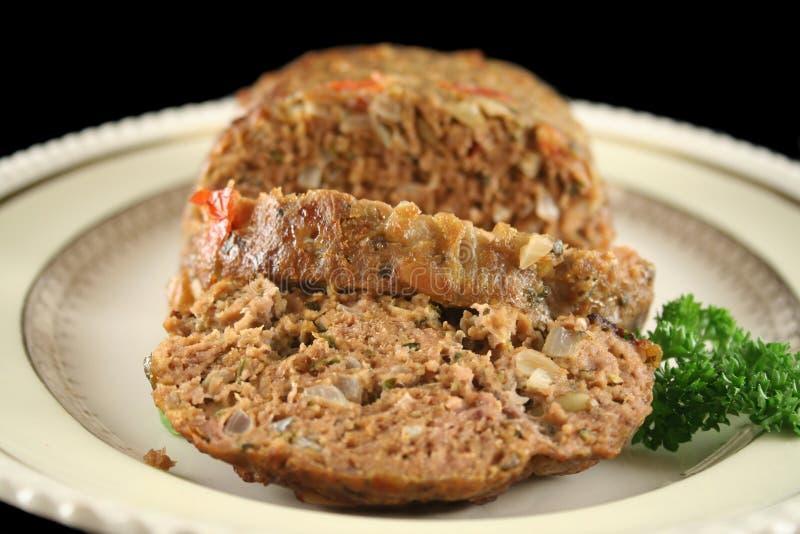 Pan con carne 4 del cordero fotos de archivo