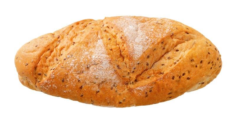 Pan con la semilla de lino para una dieta sana fotografía de archivo libre de regalías