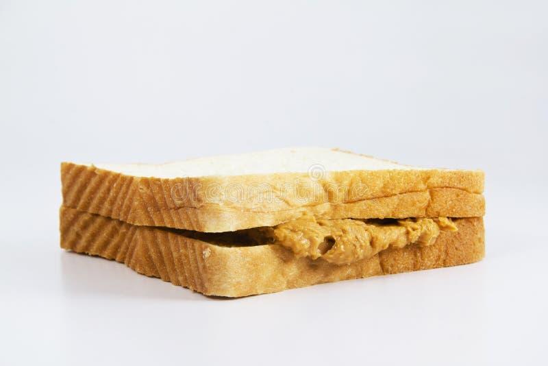 Pan con los cacahuetes del atasco imagenes de archivo