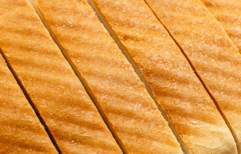 Pan cortado como fondo fotografía de archivo