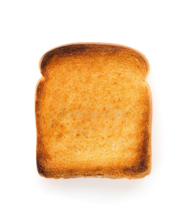 Pan cortado en blanco fotos de archivo libres de regalías