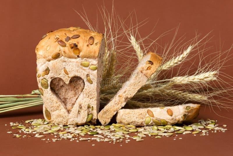Pan de Healty Brown fotografía de archivo libre de regalías