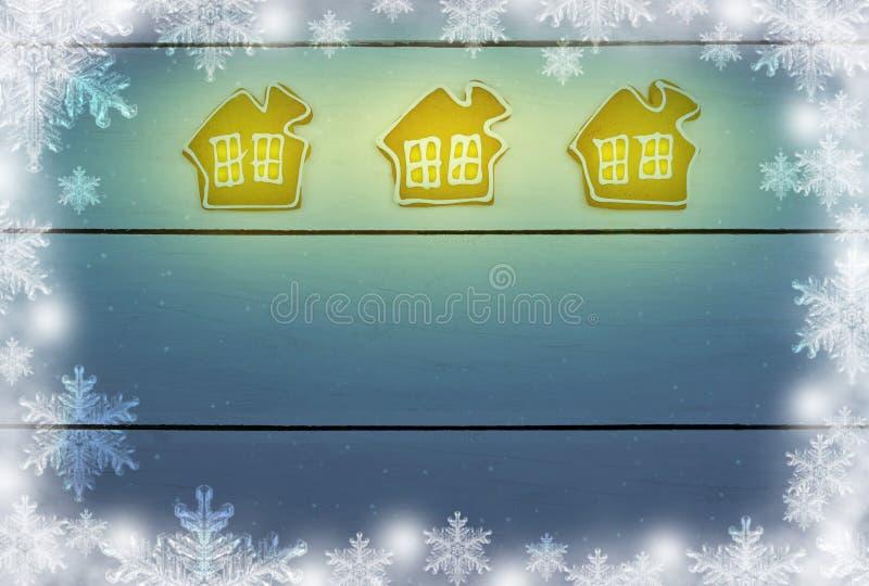 Download Pan De Jengibre En La Tabla Concepto: Una Noche De La Navidad Fabulosa L Imagen de archivo - Imagen de luces, brillo: 100533633
