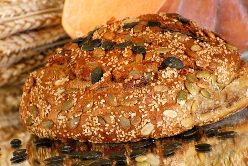 Pan de la calabaza fotografía de archivo