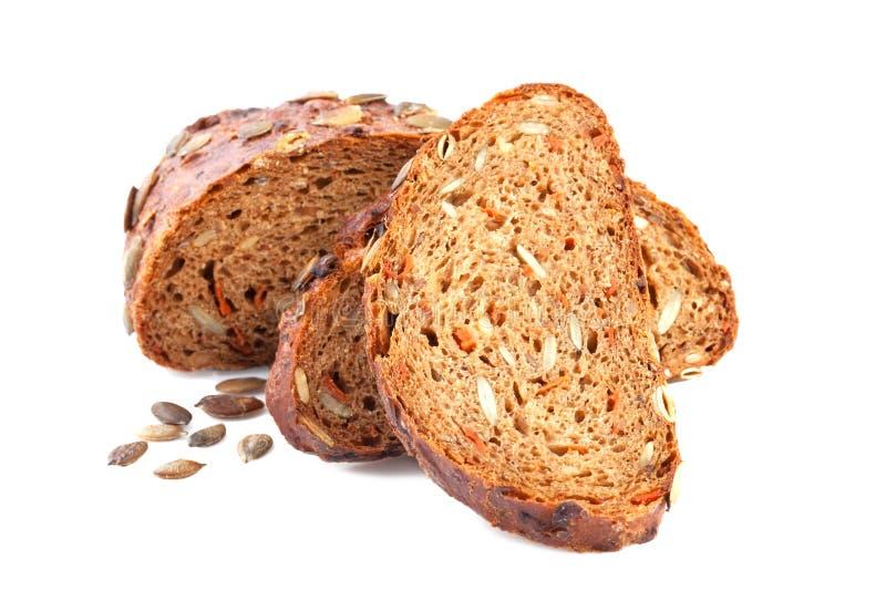 Pan de la zanahoria de la calabaza fotos de archivo