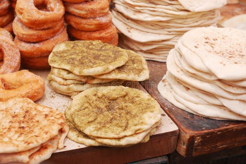 Pan de Lavashes foto de archivo libre de regalías