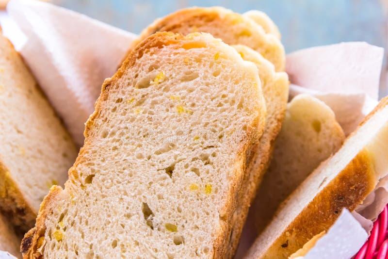 Pan de maíz foto de archivo