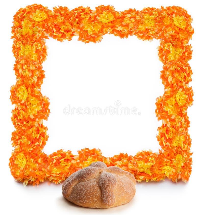 Pan de Muerto, Dag van het Dode Brood stock foto's