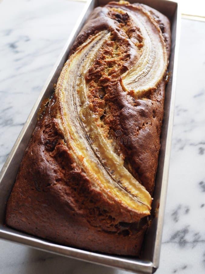 Pan de plátano imagen de archivo libre de regalías