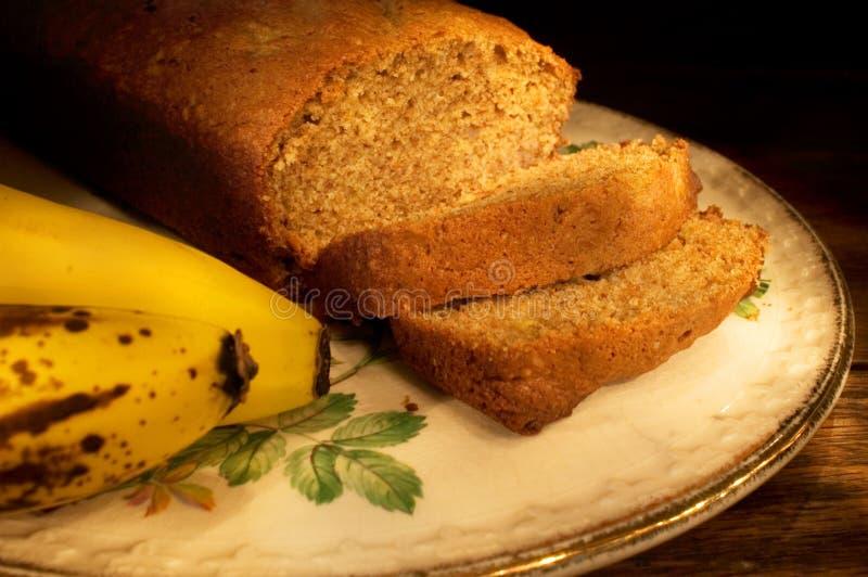 Pan de plátano imagen de archivo