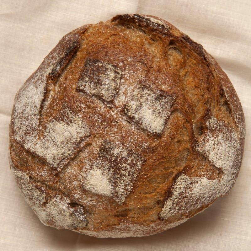 Pan de Rye en una servilleta fotos de archivo libres de regalías