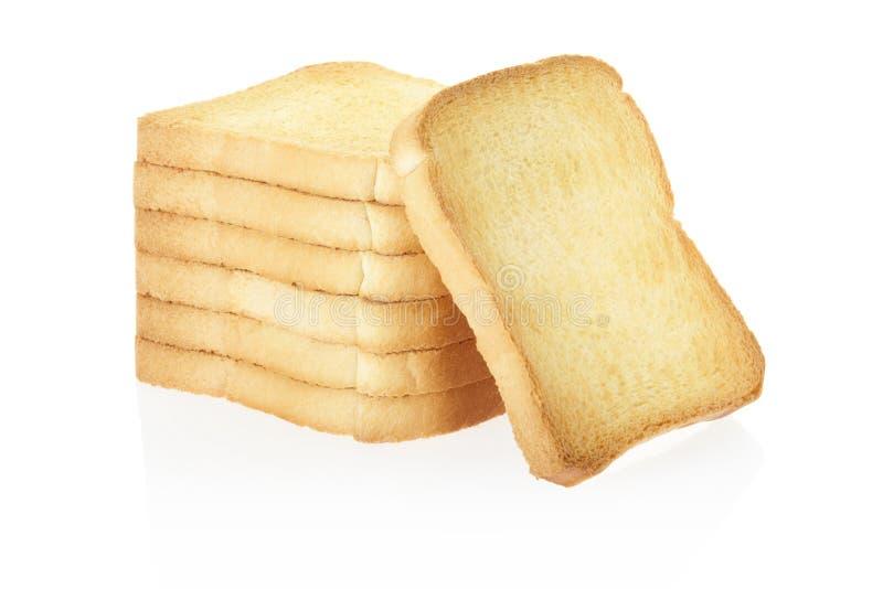 Pan del bizcocho tostado imagen de archivo