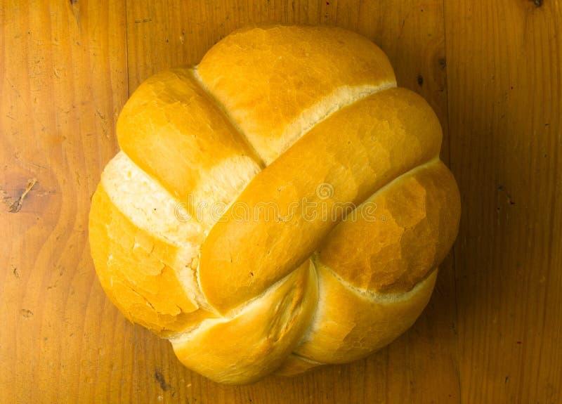 pan del pan blanco del trigo imagen de archivo
