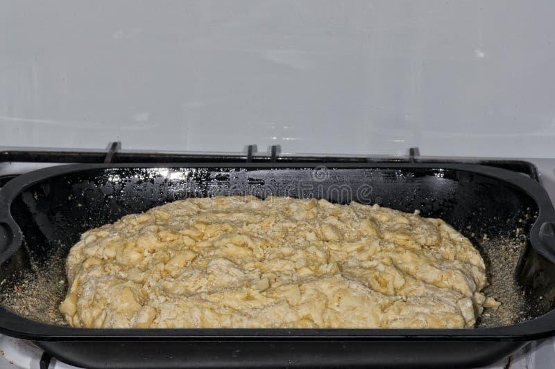 Pan del queso crudo fotografía de archivo libre de regalías
