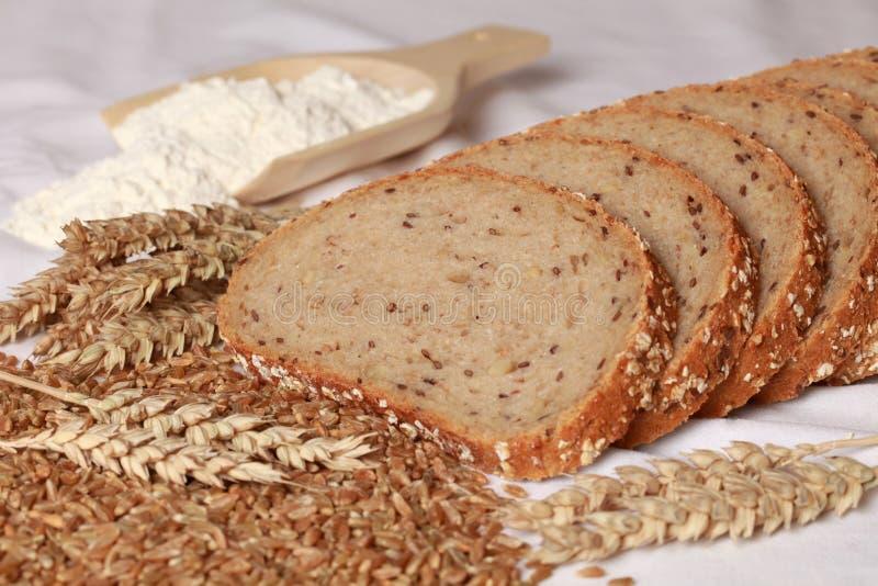 Pan del trigo imagen de archivo libre de regalías