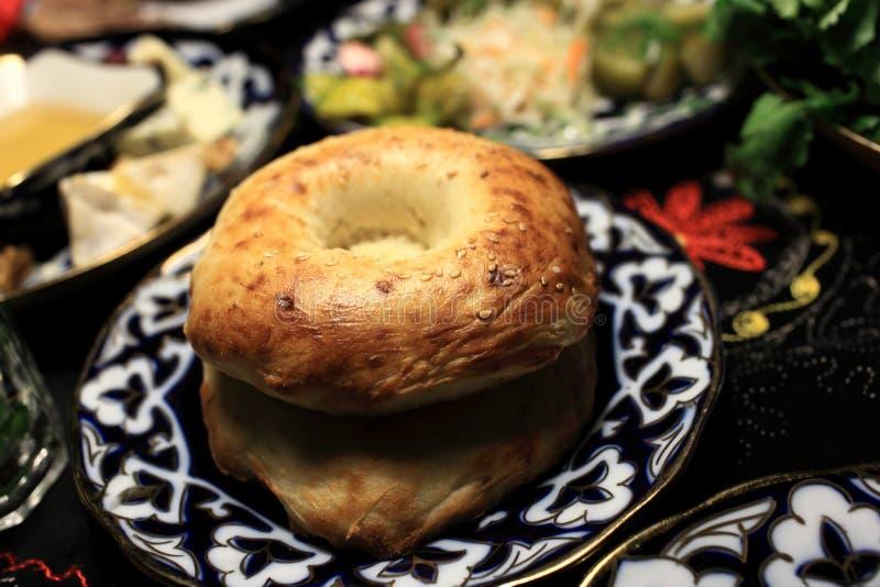 Pan del Uzbek fotos de archivo libres de regalías