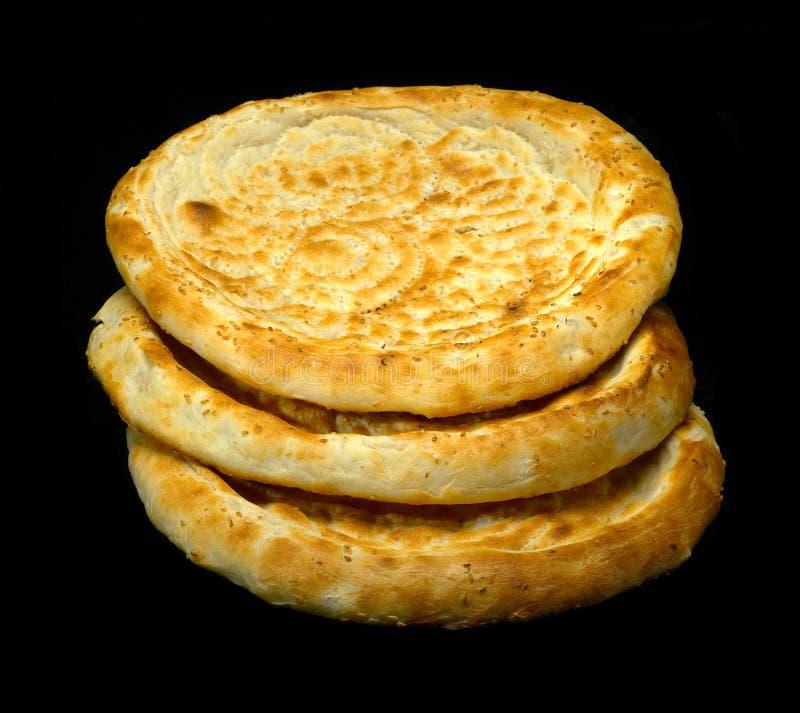 Pan del Uzbek fotografía de archivo