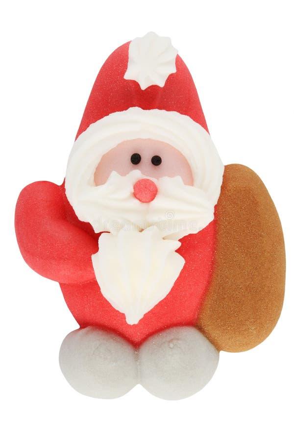 Pan di zenzero il Babbo Natale fotografia stock libera da diritti