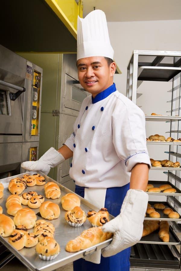 Pan dulce cocido al horno fotos de archivo libres de regalías