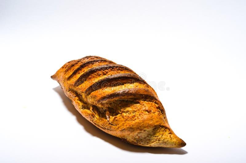 Pan en el fondo blanco imágenes de archivo libres de regalías