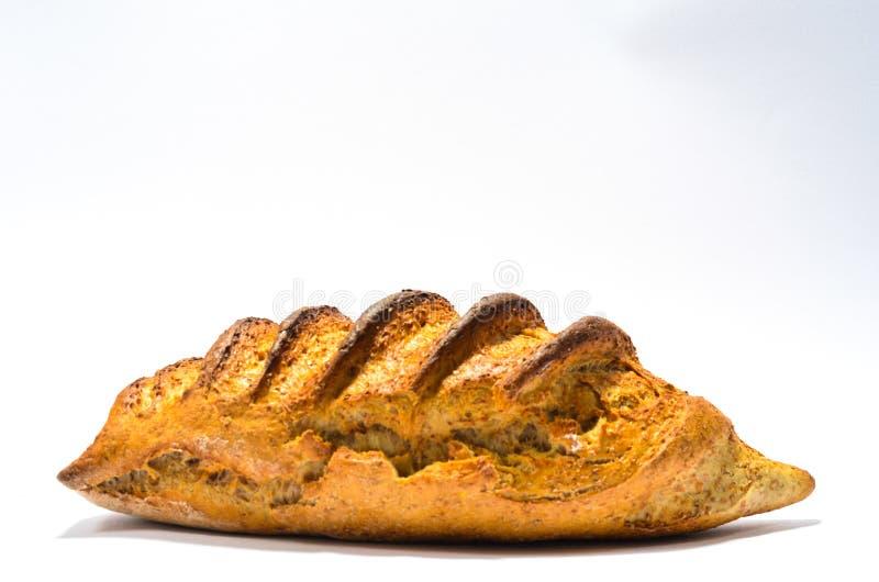 Pan en el fondo blanco fotografía de archivo