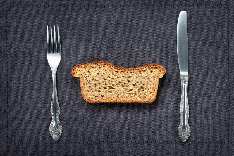 Pan entero del grano o del trigo integral imagen de archivo