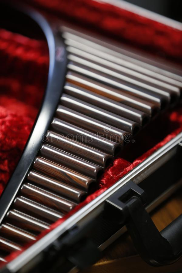 Pan Flute images stock