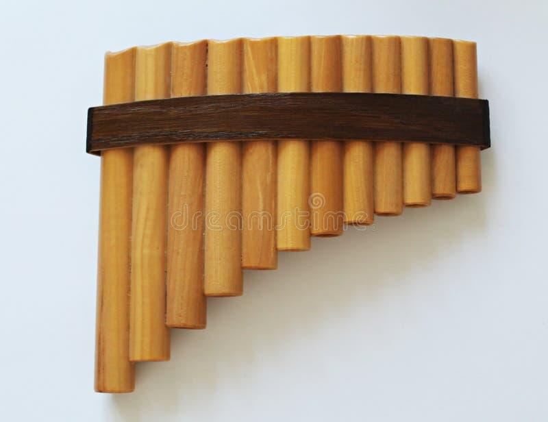 Pan Flute imagens de stock