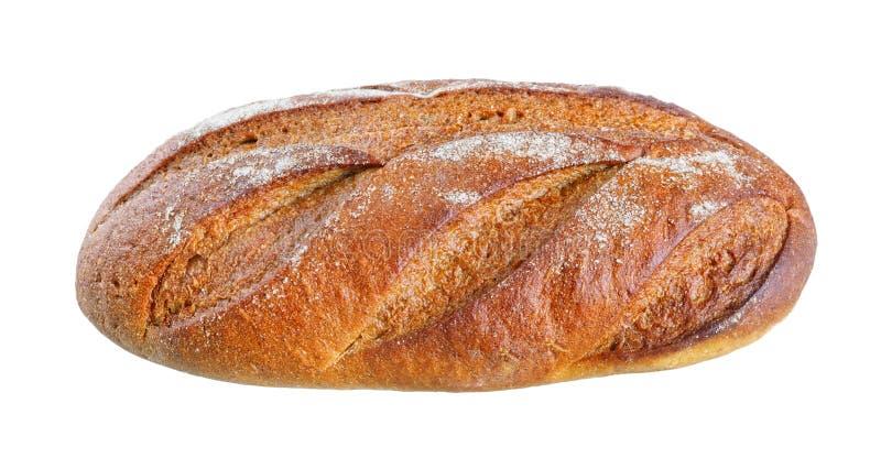 Pan fresco aislado en un fondo blanco fotografía de archivo libre de regalías