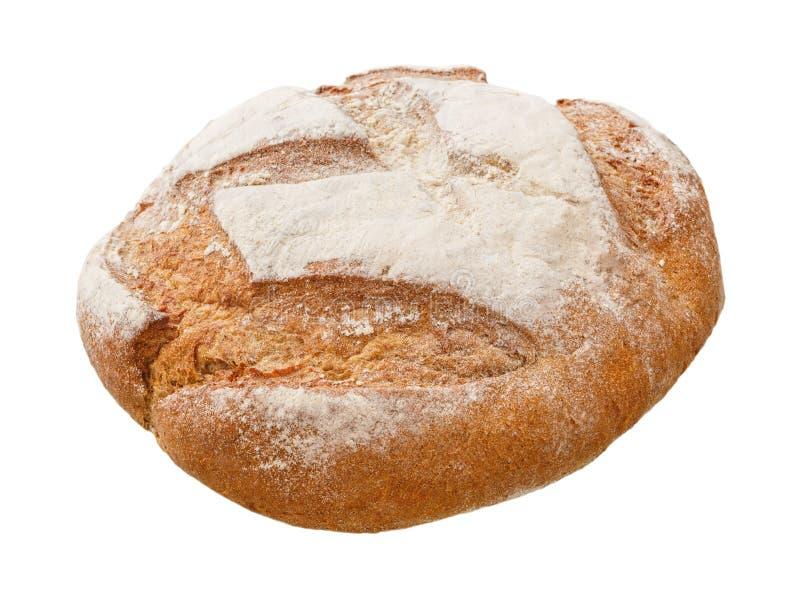 Pan fresco aislado en un fondo blanco imagenes de archivo