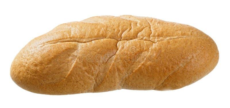 Pan fresco aislado en un fondo blanco fotografía de archivo
