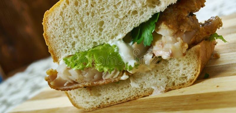 Pan-Fried Catfish fotografia stock libera da diritti