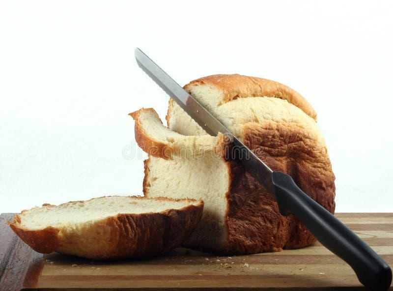 Pan hecho casero fresco foto de archivo