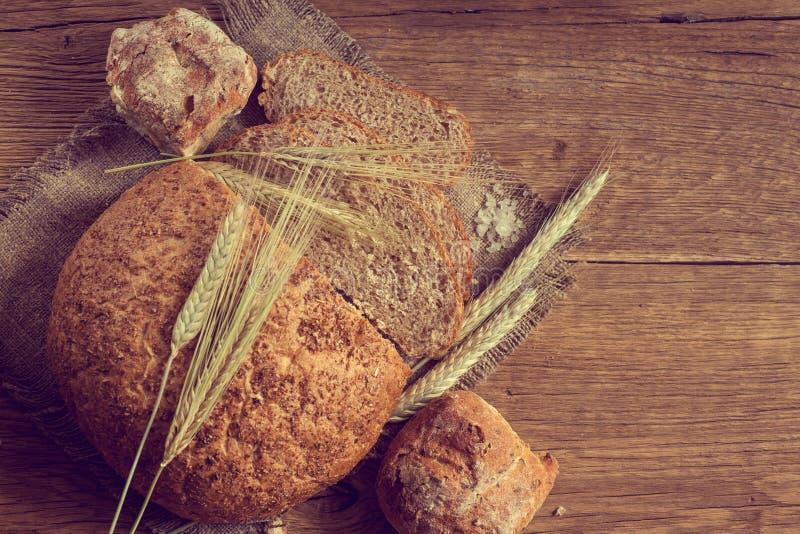 Pan hecho en casa imagenes de archivo