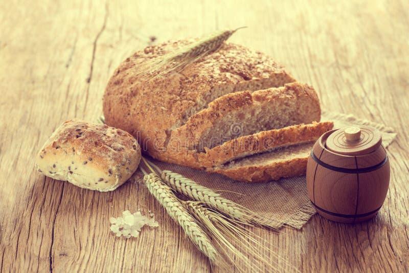 Pan hecho en casa fotografía de archivo