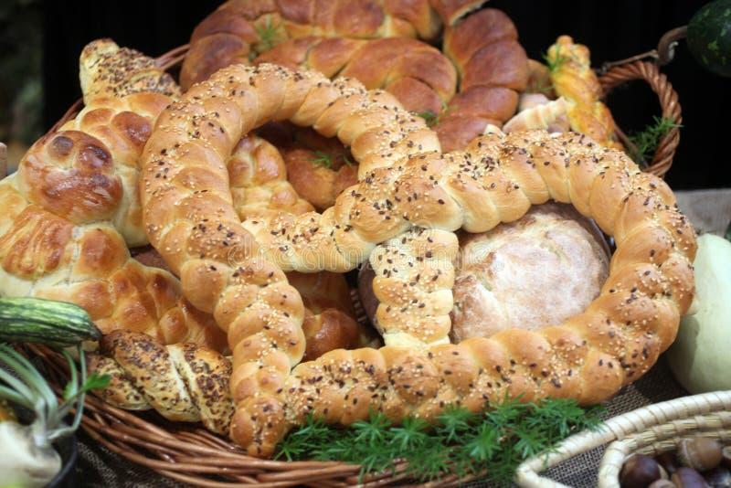Pan hecho en casa delicioso foto de archivo libre de regalías
