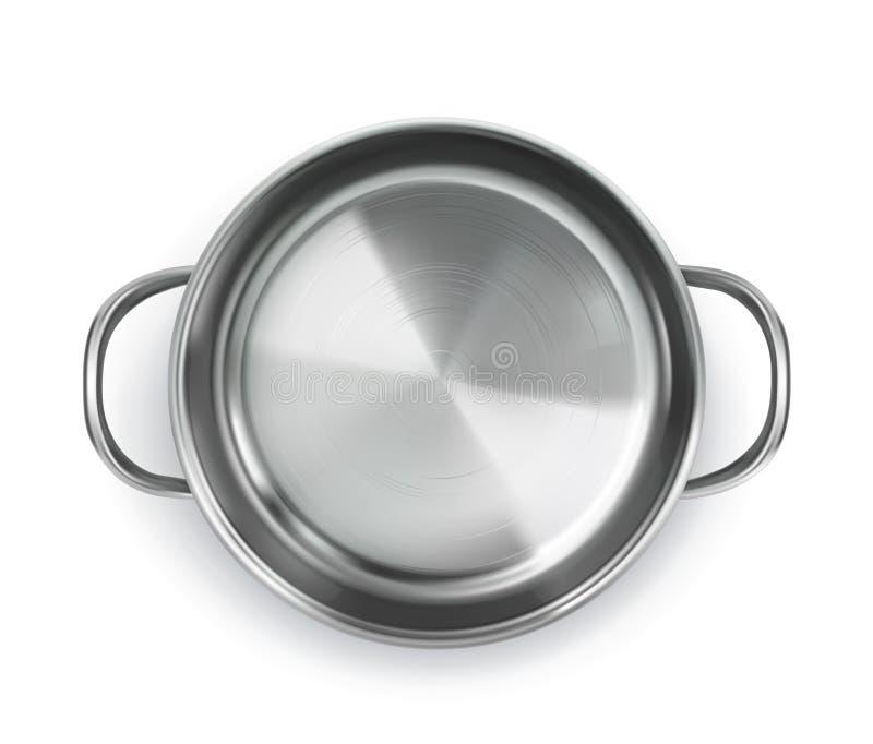 Pan, hoogste menings vectorvoorwerp royalty-vrije illustratie