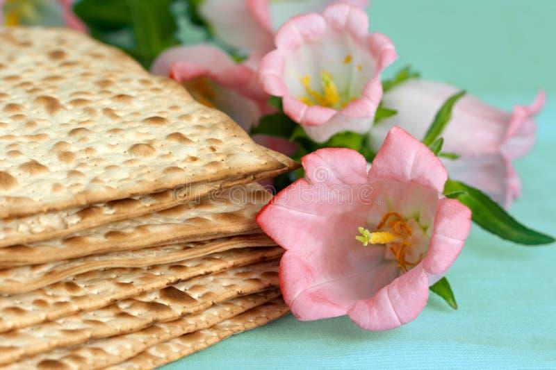 Pan judío de Matza imagen de archivo libre de regalías