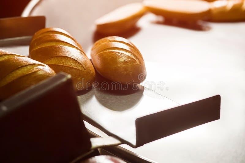 Pan largo del pan imagen de archivo