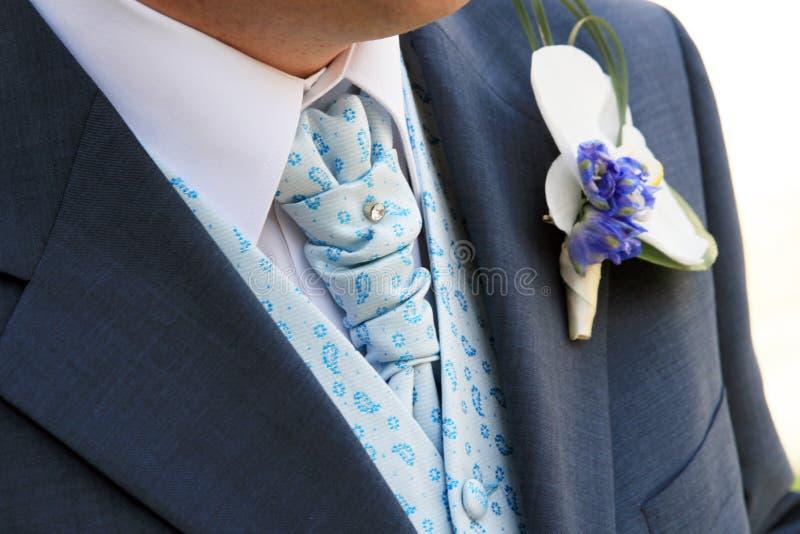 pan młody jest krawat zdjęcie royalty free