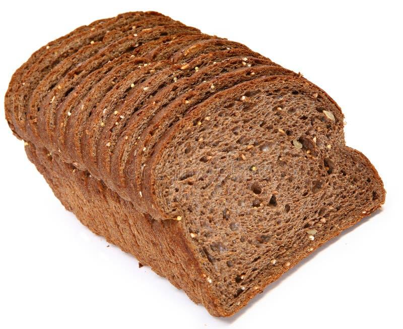 Pan oscuro alemán del trigo foto de archivo