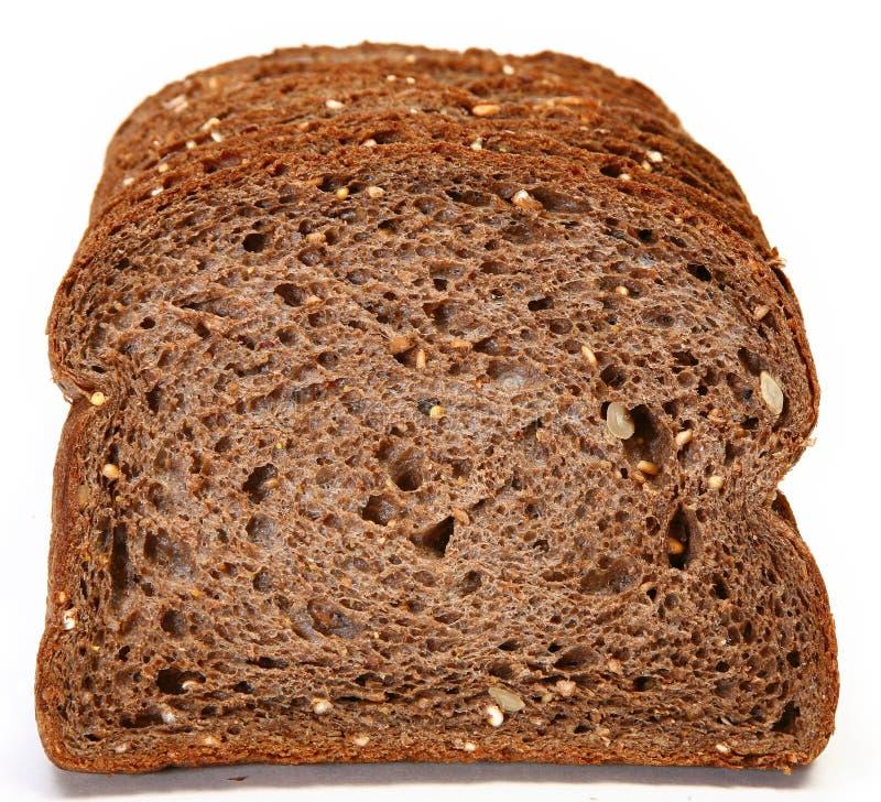 Pan oscuro alemán del trigo fotografía de archivo