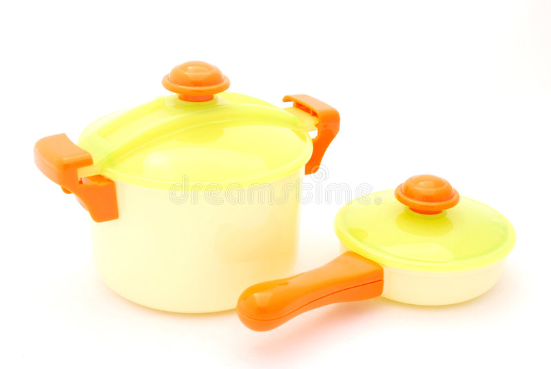 pan pot toy στοκ εικόνα με δικαίωμα ελεύθερης χρήσης