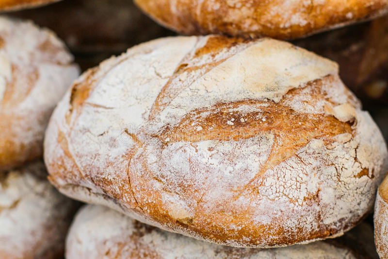Pan recientemente cocido al horno foto de archivo libre de regalías
