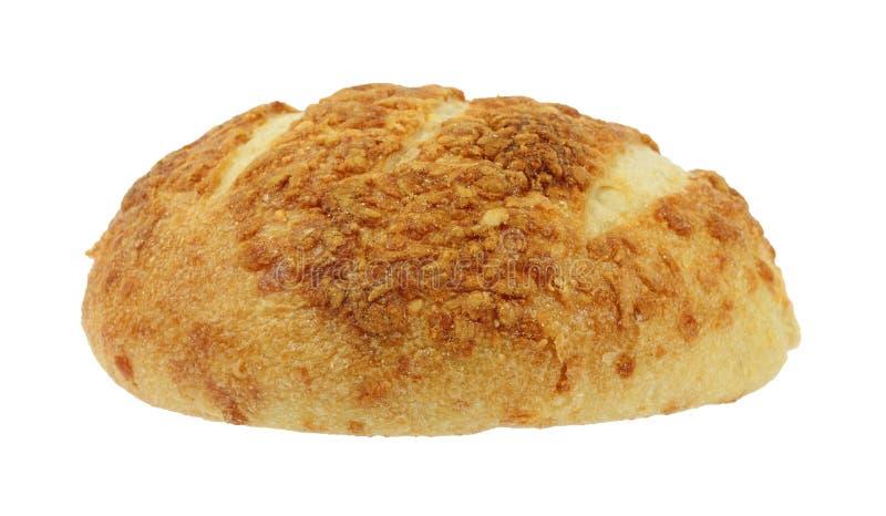 Pan recientemente cocido al horno del boule del queso cuatro fotos de archivo