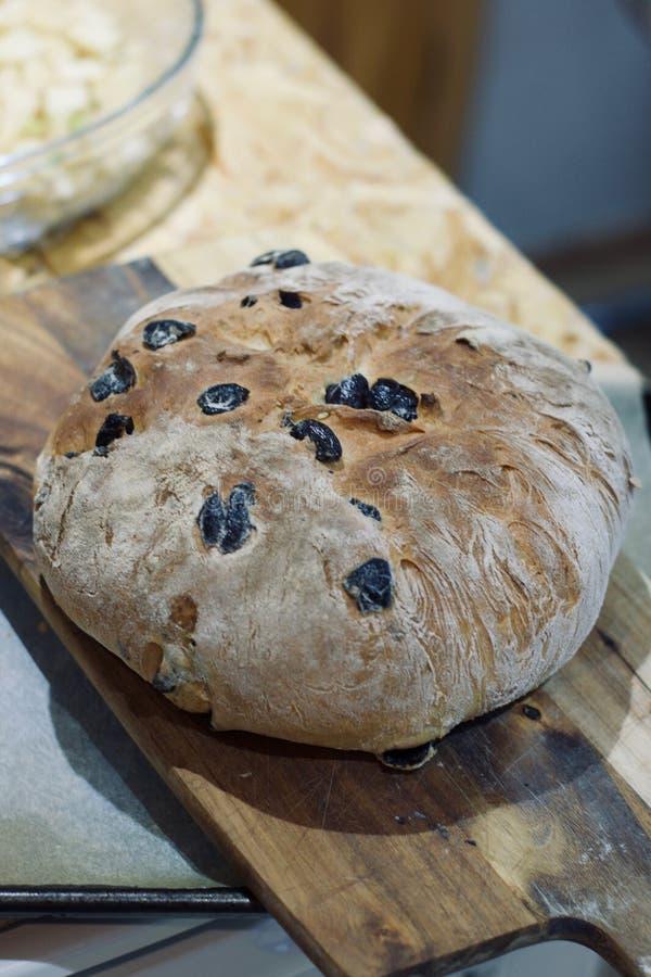 Pan sabroso hecho en casa fotos de archivo