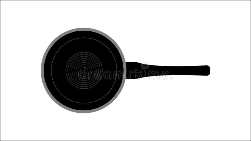 Pan of steelpan vector illustratie