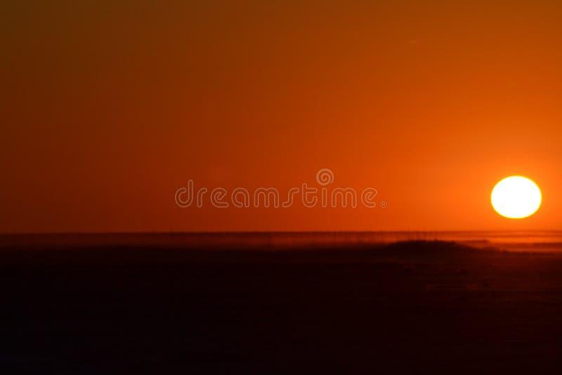 Pan sunset royalty free stock photos