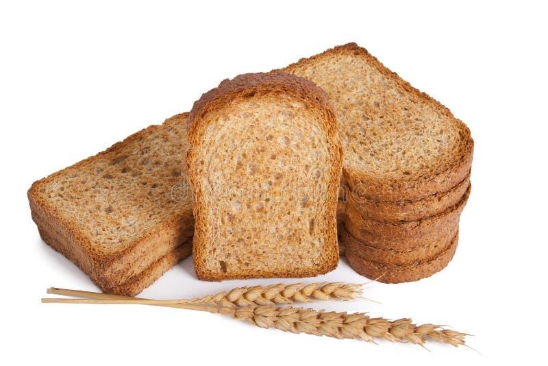 Pan tostado imagen de archivo